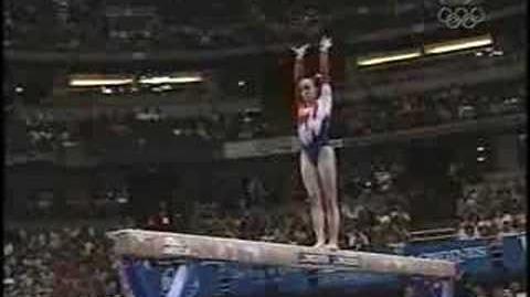 Chellsie Memmel - 2003 Worlds Team Finals - Balance Beam