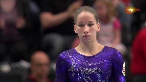 Zsofia Kovacs 2016 European Championships TF VT