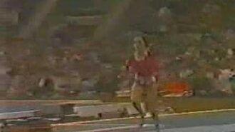 Elena Davydova 1980 Olympics Event Finals Vault