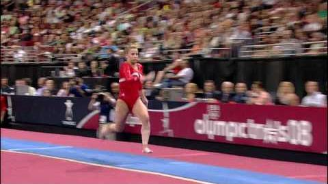 Alicia Sacramone - Vault - 2008 Olympic Trials - Day 1