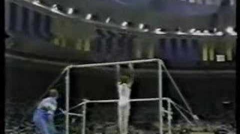 Daniela Silivas - 1988 Olympics AA - Uneven Bars