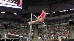 Lauren Hernandez - Uneven Bars - 2016 P&G Gymnastics Championships – Sr