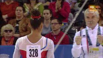Melanie de Jesus dos Santos. 2017 European Championships. AA. UB