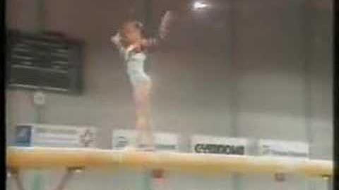 Elodie Lussac 1993 Junior Europeans EF BB