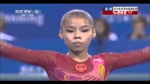 Shang Chunsong BB TF, World Championships Nanning 2014