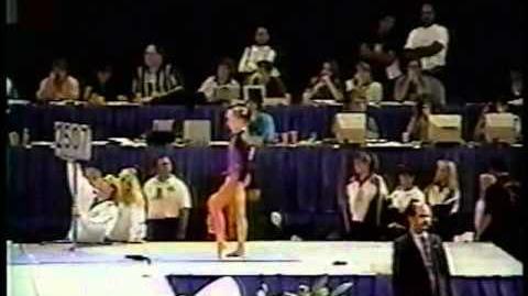 Shannon Miller - 1995 US Nationals Optional Vault