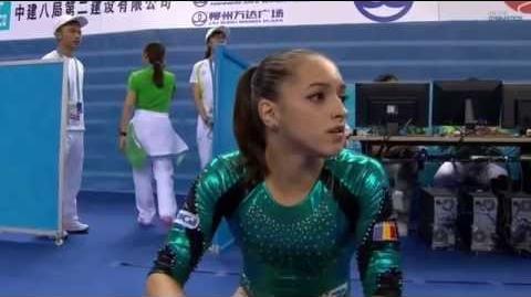 Larisa Iordache - Floor (2014 Worlds EF)