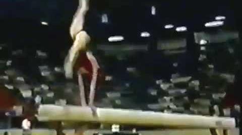 AA 1987 World University Games URS Elena Shushunova BB
