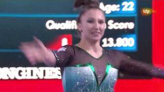 Roxana Popa. 2019 World Championships. EF. FX