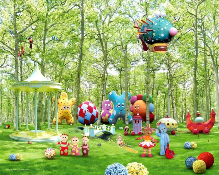 Welcome to in the night garden