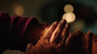 The Master heals her injured arm