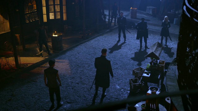 File:Quinn and M.K. preparing to defend themselves from Ryder, Jacobee and Zypher.png