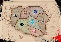 Badlands Territories Map