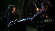 Sunny prepares to torture Tilda