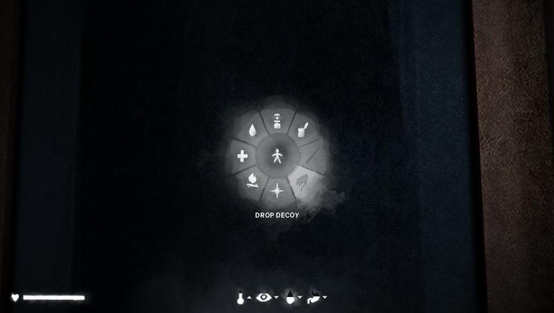 The Long Dark updated Radial Menu