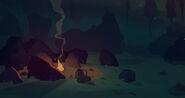 The Long Dark - Empty campfire