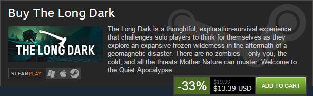 Image - The Long Dark -- Steam Halloween Sale!.png   The Long Dark ...
