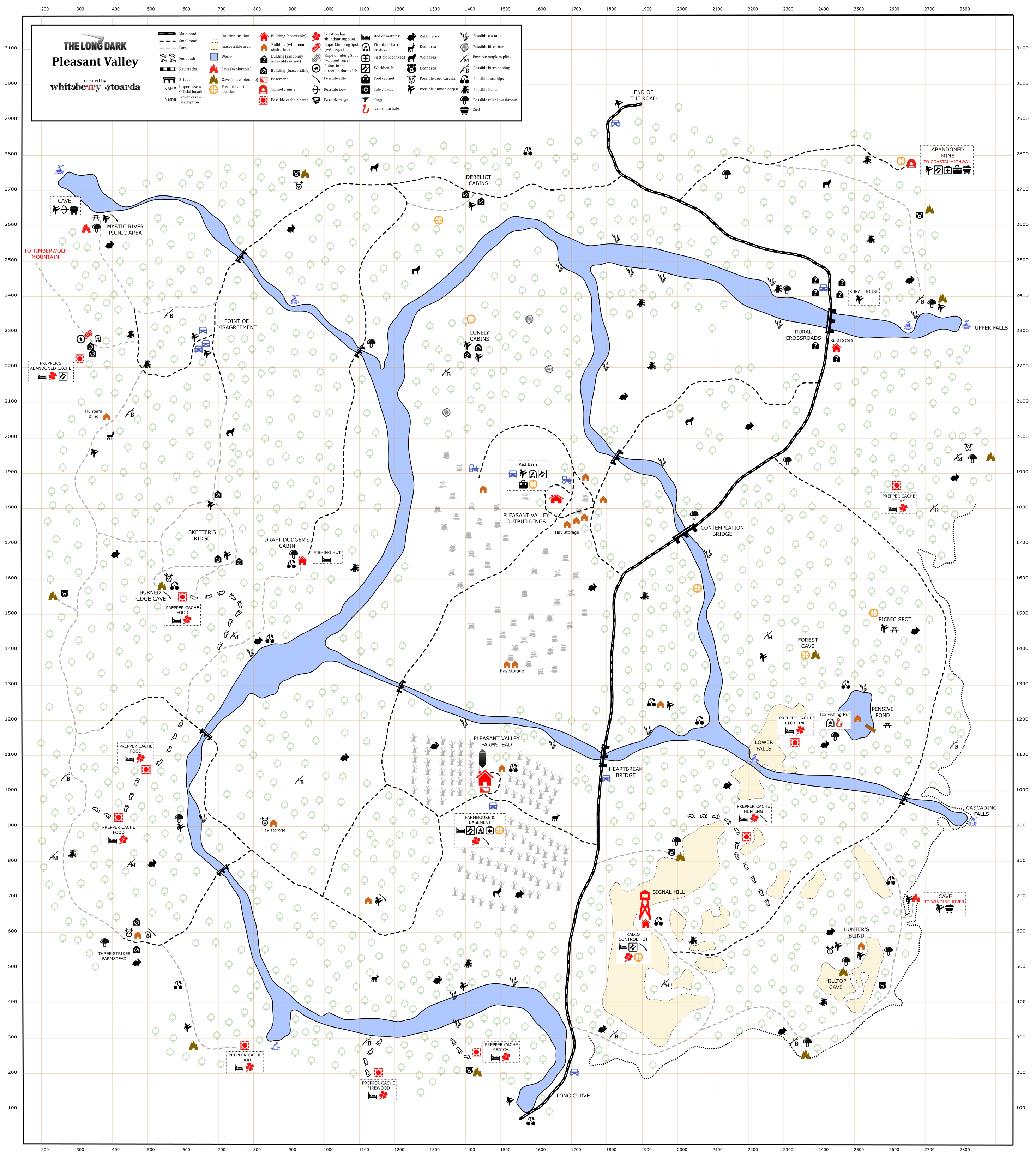 Image Pleasant Valley map by whiteberry toarda