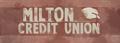 Milton credit union sign.png