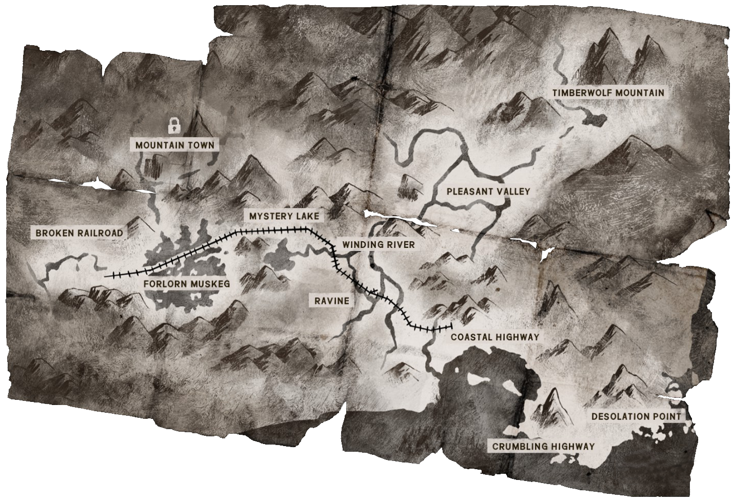 Map | The Long Dark Wiki | FANDOM powered by Wikia