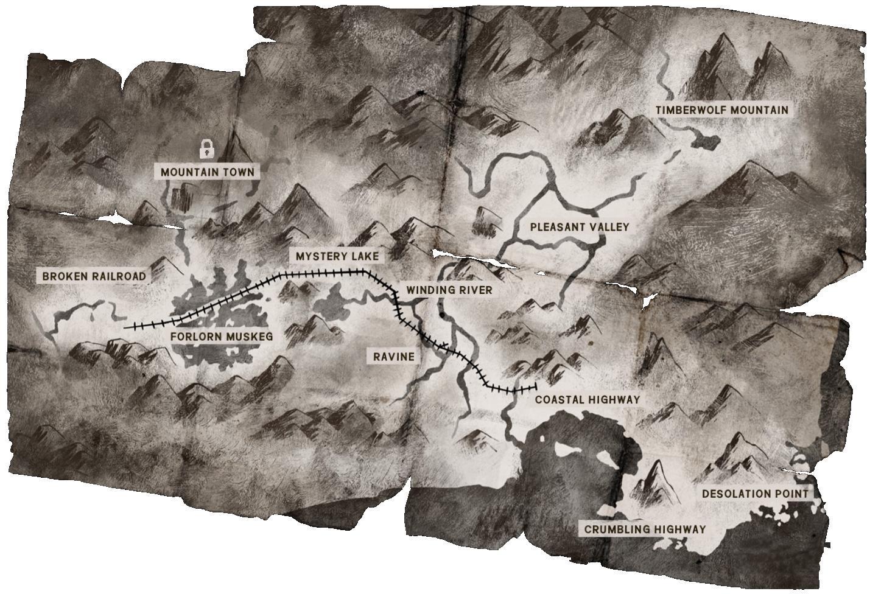 Map the long dark wiki fandom powered by wikia map sciox Gallery