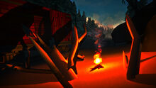 The Long Dark - Campfire