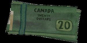 Cash item