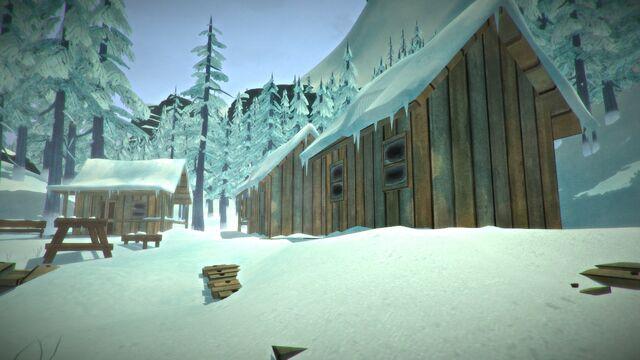 File:Lake cabins.jpg
