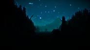 The Long Dark Night at the Lake Cabin
