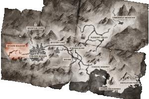 Locator map Broken Railroad