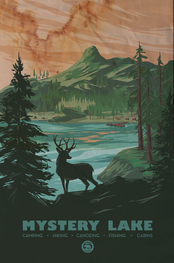 Mystery Lake Poster