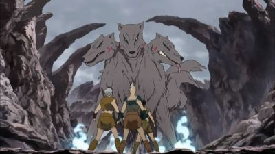 Wolf Demon Graveyard Protector Inuyasha Fandom Powered By Wikia