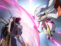 Narakus Barrier and Sesshomaru