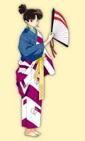 Kagura's outfit