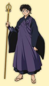 Miroku's outfit