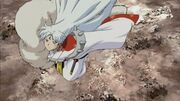 Sesshomaru Flying