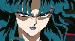 Kaguya is angry