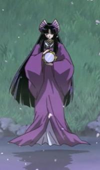 Kaguya's princess outfit