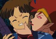 Suzaku licks Akitoki