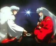 Inuyasha y sesshomaru