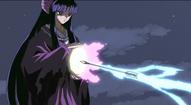 Kaguya absorbs Kagome's arrow