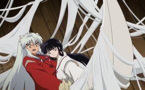 Inuyasha y Kikyo acto final 7