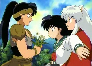 when do inuyasha and kagome start dating