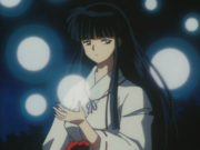 Kikyo Collecting Lost Souls