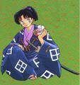 Amari Nobunaga and Hiyoshimaru (manga).png