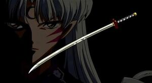 Sesshomaru and Tenseiga