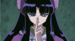 Kaguya uses a spell