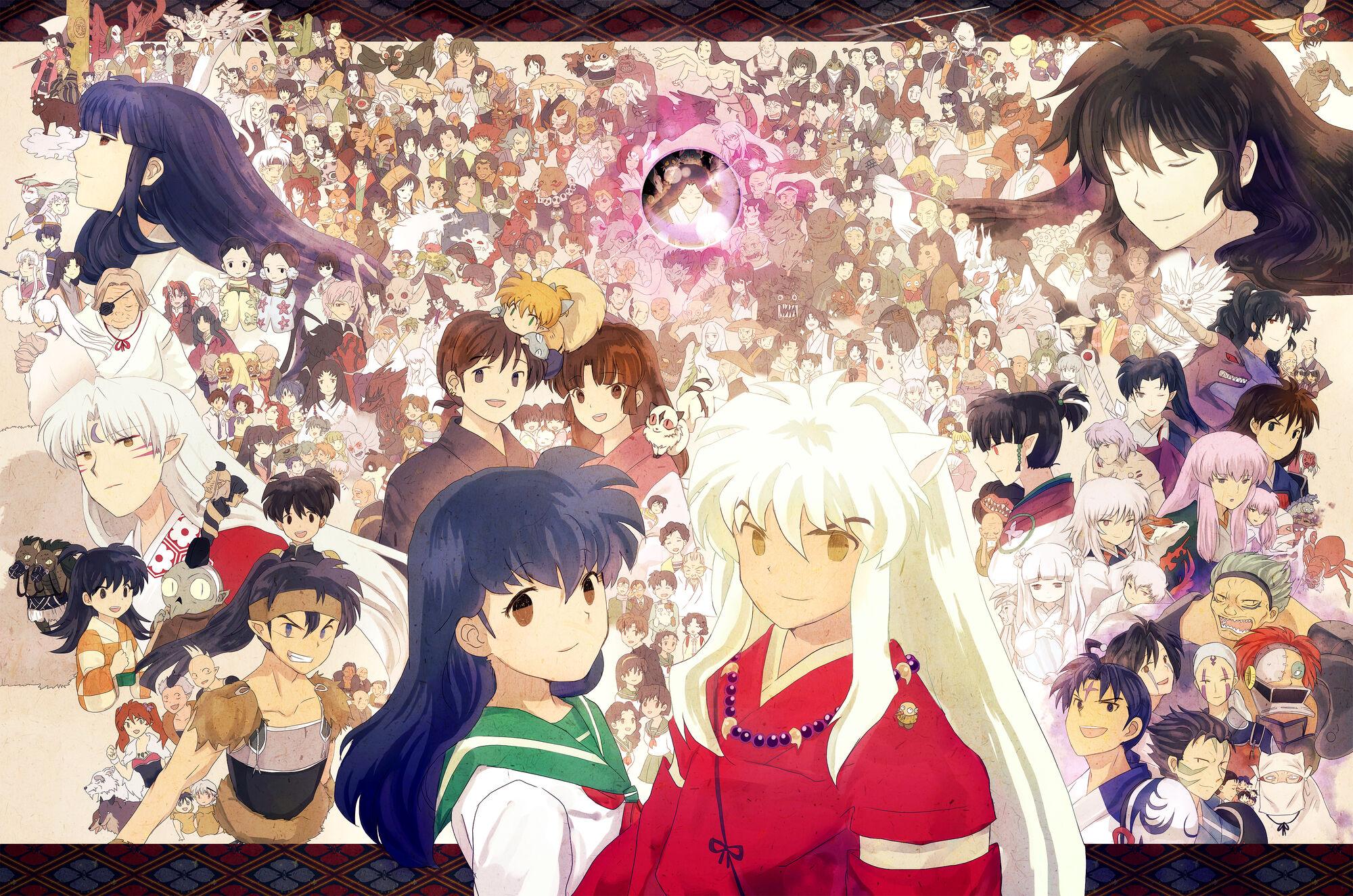 Inuyasha Anime Cast