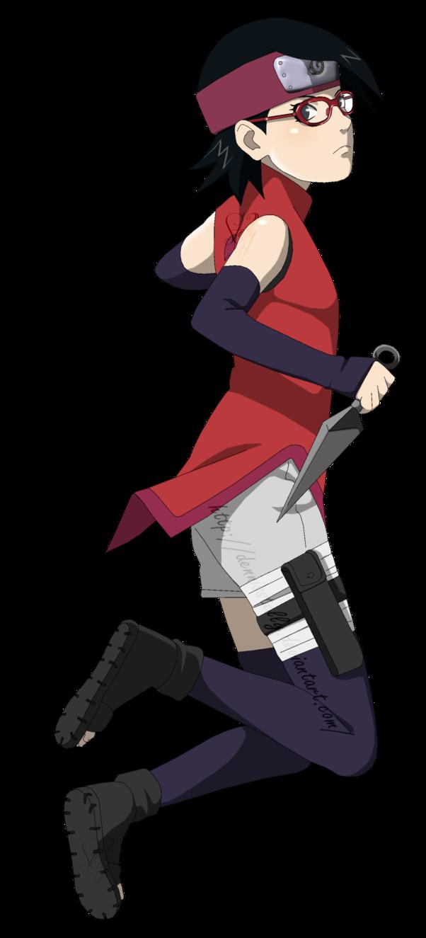 sarada y boruto naruto y sasuke