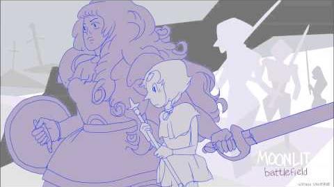 Steven Universe Soundtrack - Moonlit Battlefield Super Extended